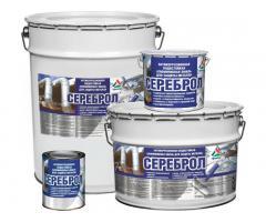 Сереброл - серебристая водостойкая эмаль для металла
