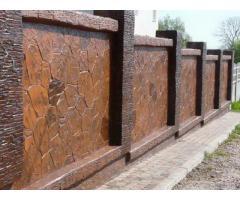 Дорожные покрытия, покрытие фасадов, декоративная отделка