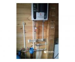 Водоснабжение и отопление дома под ключ в Московской области