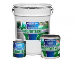 Молотекс - молотковая эмаль по металлу