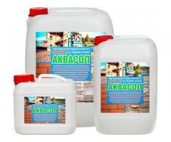 Аквасол - влагоизолятор бетона, кирпича, камня