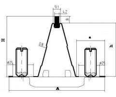 Направляющие рельс-формы В45 для устройства опалубки бетонных полов