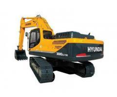 Сдается в аренду  Экскаватор полноповоротный гусеничный 1,5 м*3 Hyundai  R 300