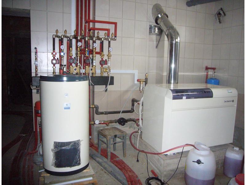 Монтаж закрытой системы отопления