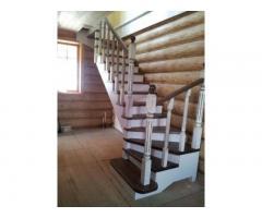 Лестницы из дерева - скидки до 10%!
