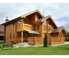 Строительство домов из кирпича и бруса в Москве и Калужской области