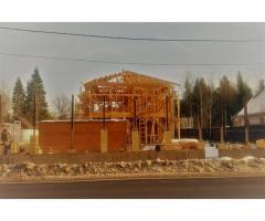 Строительство домов, коттеджей, бань под ключ