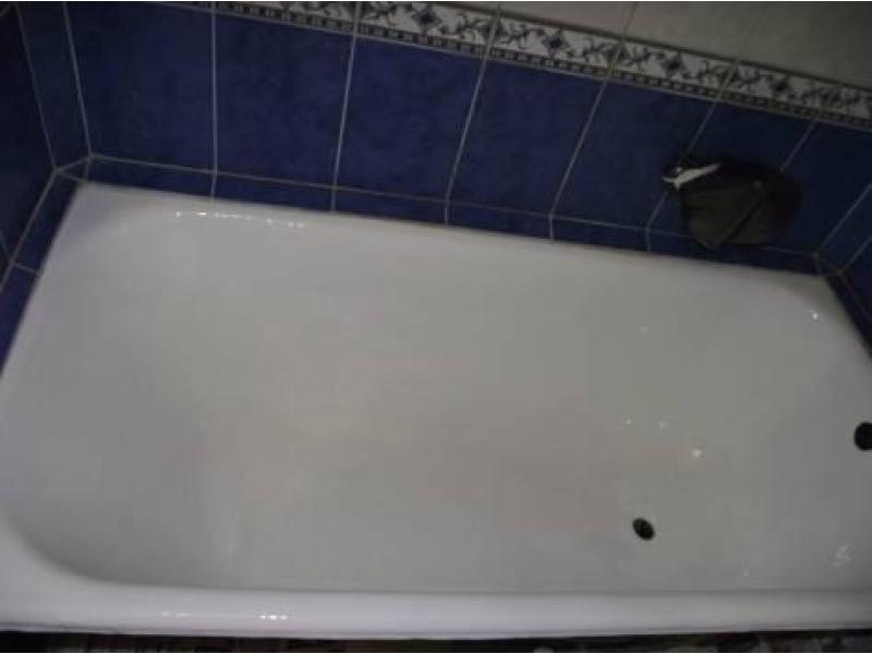 Обновление эмали ванн,душевых поддонов в Серпухове. - 1/2