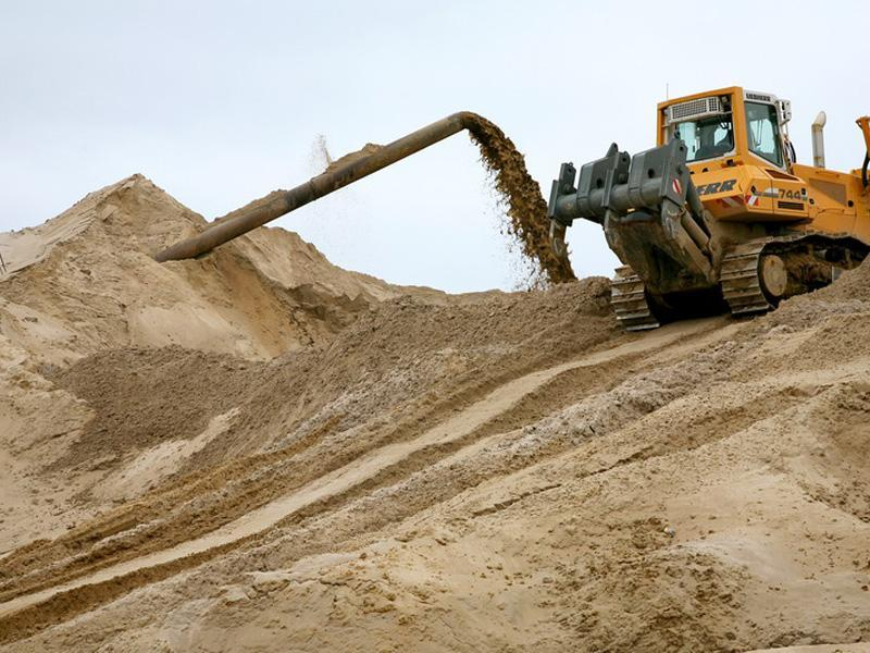 Песок гидронамывной - 1/1