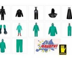 Купить одежду влагозащитную кислотную, Польша