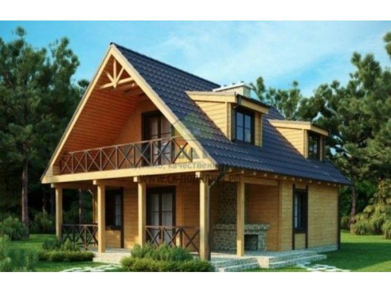 Строительство дачных домов, бань из бревна, из бруса или каркасных бань. - 3/3