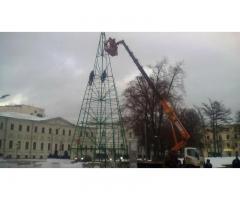 Аренда автовышки в Москве и Московской области!