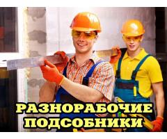 Услуги Подсобных рабочих,Демонтаж,Грузчики
