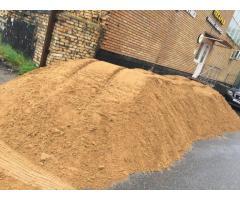 Доставка песка, щебня, чернозема