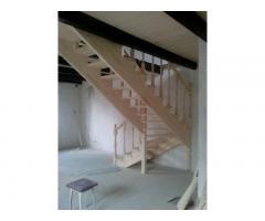 Изготовление лестницы на второй этаж (межкомнатная лестница).