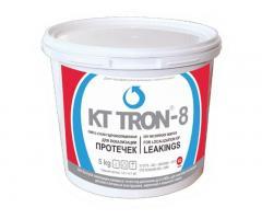 Сверхбыстротвердеющая смесь («водяная пробка») КТ трон-8 для устранения активных протечек воды в бет
