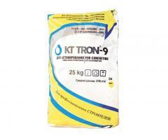 КТтрон–9 ЗР5,0 безусадочная бетонная смесь наливного типа для высокоточной цементации промышленного
