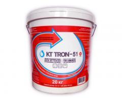 КТтрон–51 добавка для бетона гидроизолирующая, пластифицирующая, модифицирующая