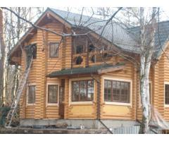 Шлифовка и конопатка деревянных домов.