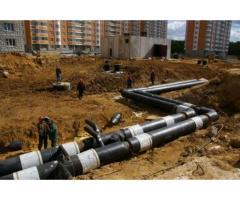 Строительство, ремонт, проектирование наружных коммуникаций