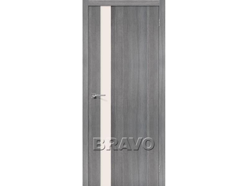 Дверь межкомнатная экошпон Порта-11 Grey Veralinga - 1/1