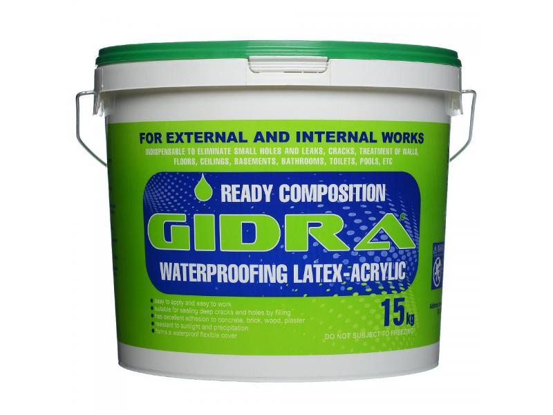 Гидроизоляция GIDRA 15 кг - 1/1