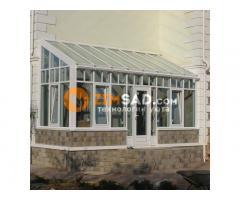 Производство и строительство светопрозрачных конструкций из алюминия, дерева и пластика.