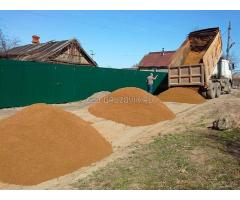 ООО ГК Спецтехника осуществляет доставку инертных материалов таких как: Песок строительный, речной,