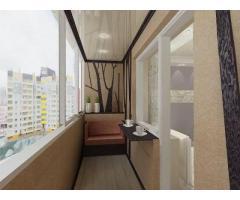 Отделка и утепление балконов и лоджий – варианты оформления