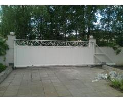 Продажа автоматических ворот и подвижных ограждающих конструкций.