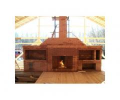 Строительство печей , каминов, барбекю.