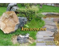 Маскировка садовых коммуникаций, технических узлов