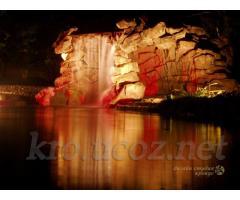 Фонтаны, водопады, декоративные композиции из искусственного камня.