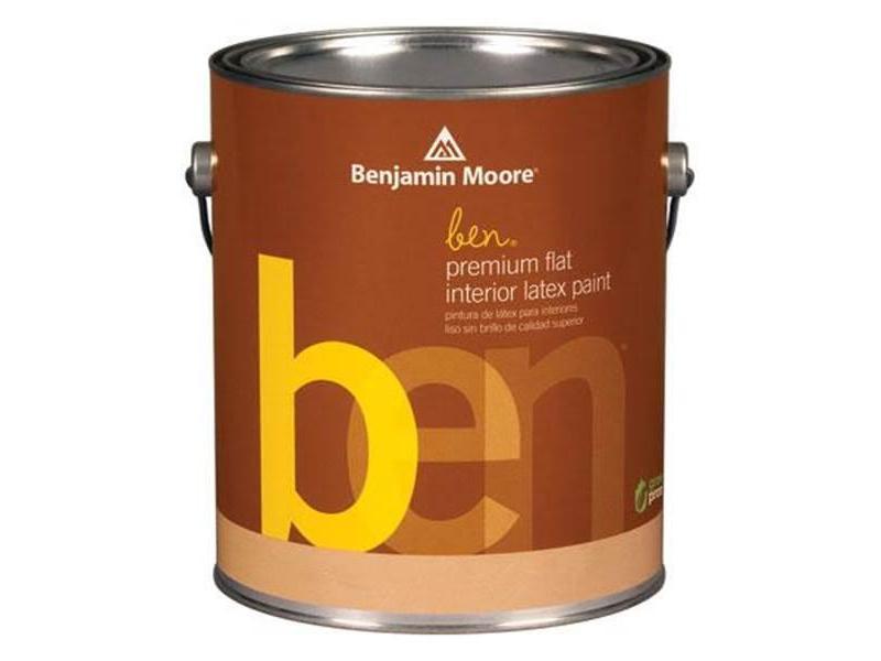 Американские краски Ben Interior Flat Finish 625 - 1/2