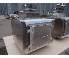 Проточный вертикальный гидрофильтр Ф250 мм для мангалов