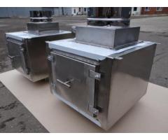 Проточный вертикальный гидрофильтр Ф315 мм  для мангалов