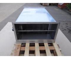 Проточный горизонтальный гидрофильтр 500*400 мм для мангалов