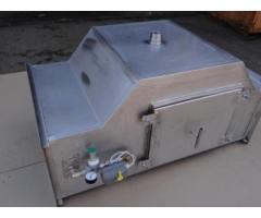 Проточный горизонтальный гидрофильтр 600*400 мм для мангалов