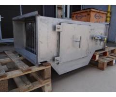 Проточный горизонтальный  гидрофильтр 700*400 мм для мангалов