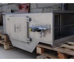 Проточный горизонтальный гидрофильтр 800*400 мм для мангалов