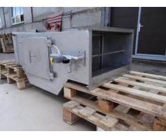 Проточный горизонтальный гидрофильтр 900*400 мм для мангалов