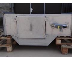 Проточный горизонтальный гидрофильтр 1000*400 мм