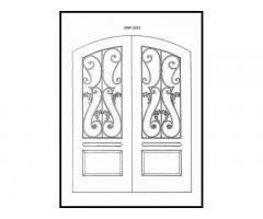 Двери входные в коттедж