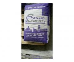 Цемент м500  пеноблоки сухая смесь в Озёрах