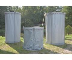 Резервуар разборный, вертикальный в защитном пенале (РРВ-3,1) Объем  3,1 м3