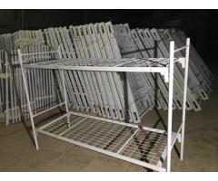 Кровати для строителей, общежитий, гостиниц, больниц от производителя