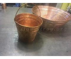 Изделия из меди, из металла с полимерным покрытием, из оцинкованной стали