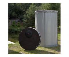 Резервуар разборный, вертикальный в защитном пенале (РРВ-2,15)   Объем -2,15 м3