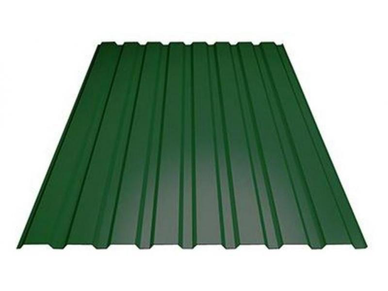 Профнастил мп20 зеленый RAL6005 - 1/1
