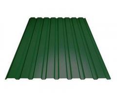 Профнастил мп20 зеленый RAL6005